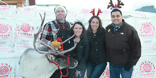 Reindeer & Beer in the Biergarten to benefit the Fairbanks Food Bank