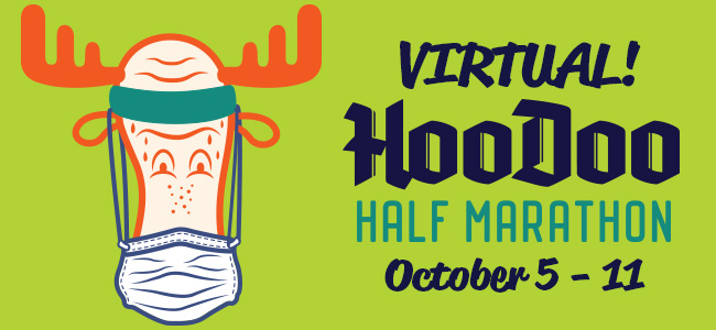 Virtual HooDoo Half Marathon - Fairbanks, Alaska